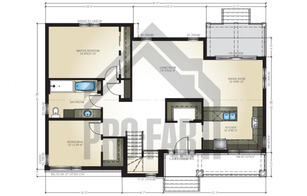 Arrowhead Floor Plan