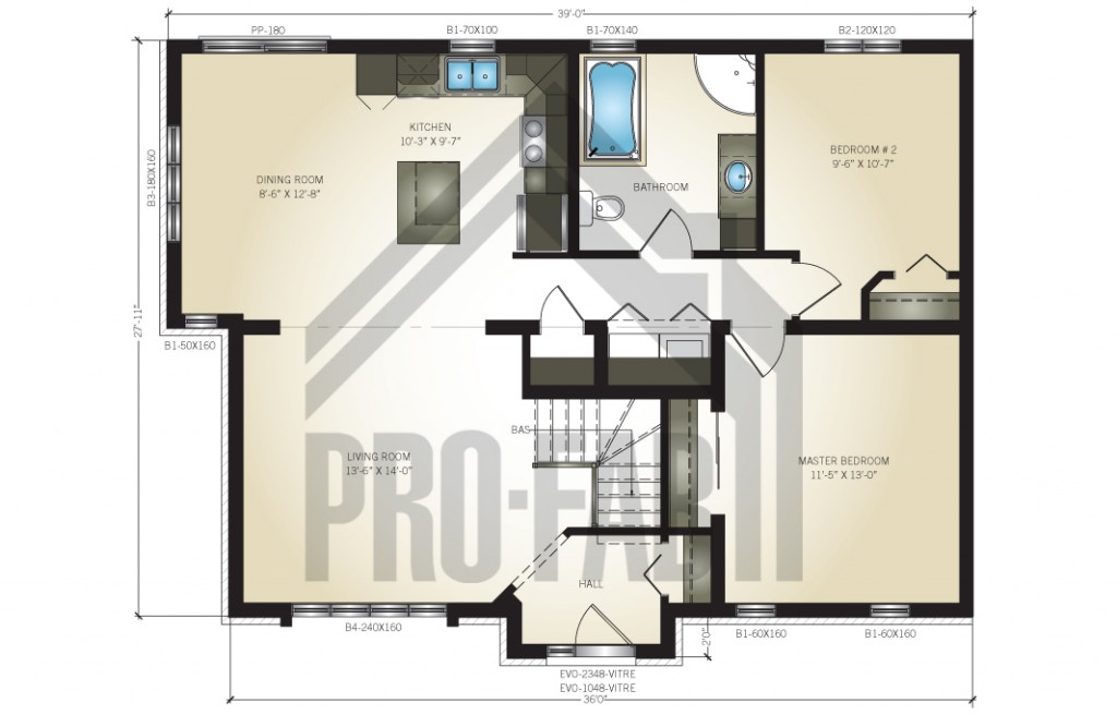 Arrowwood Floor Plan