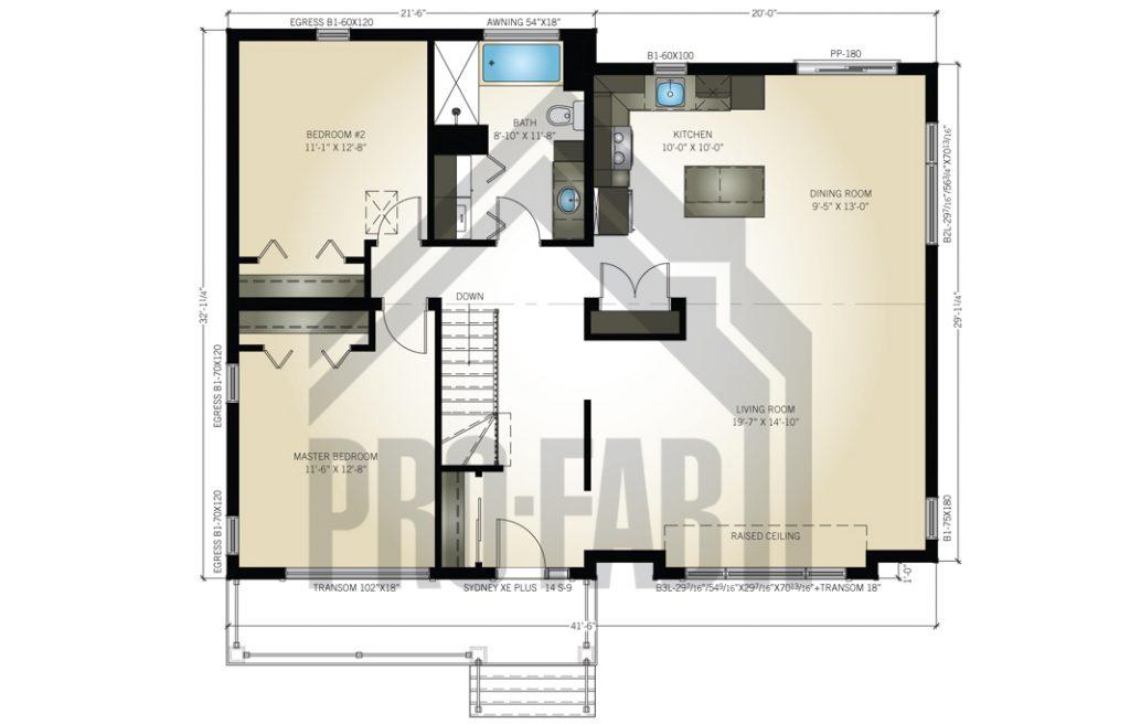 Cattleya Floor Plan