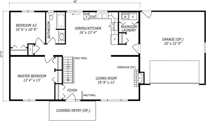 Novar Floor Plan