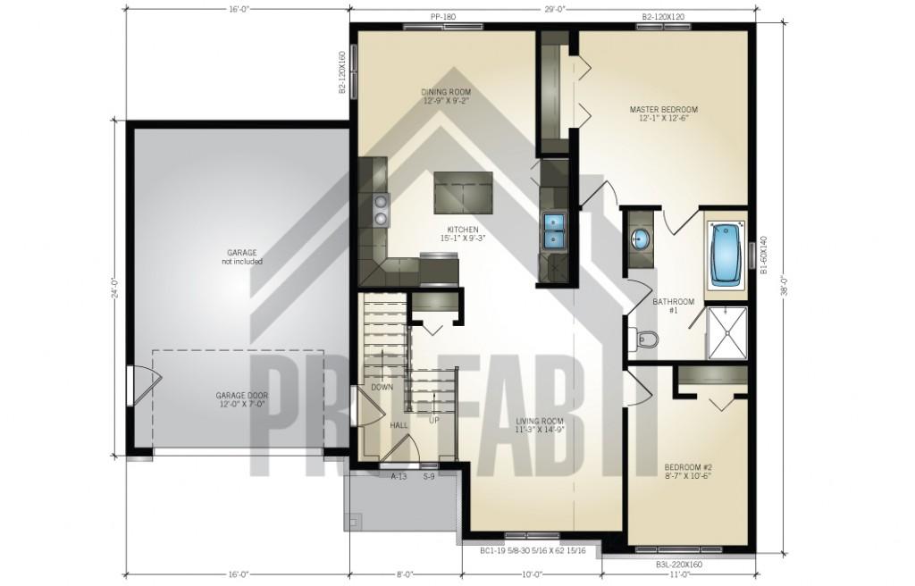 Ivy Floor Plan