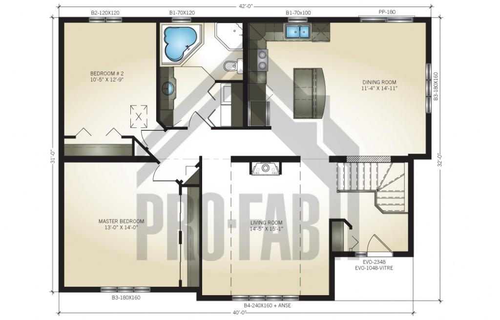 Cardinal Floor Plan