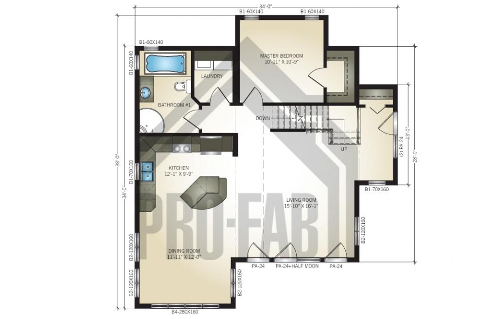 Escape Floor Plan