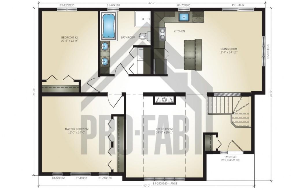 Navajo Floor Plan
