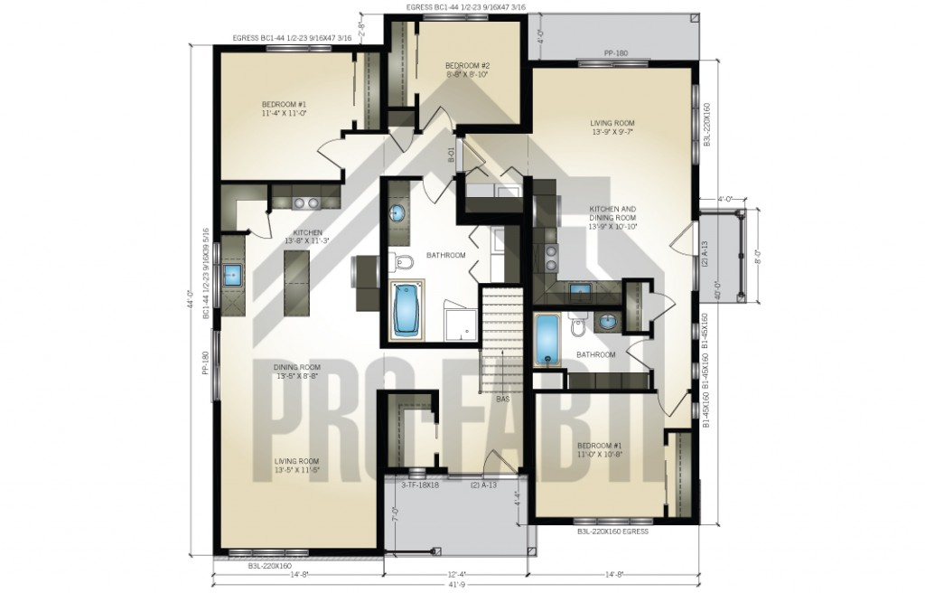 Outlaw Floor Plan