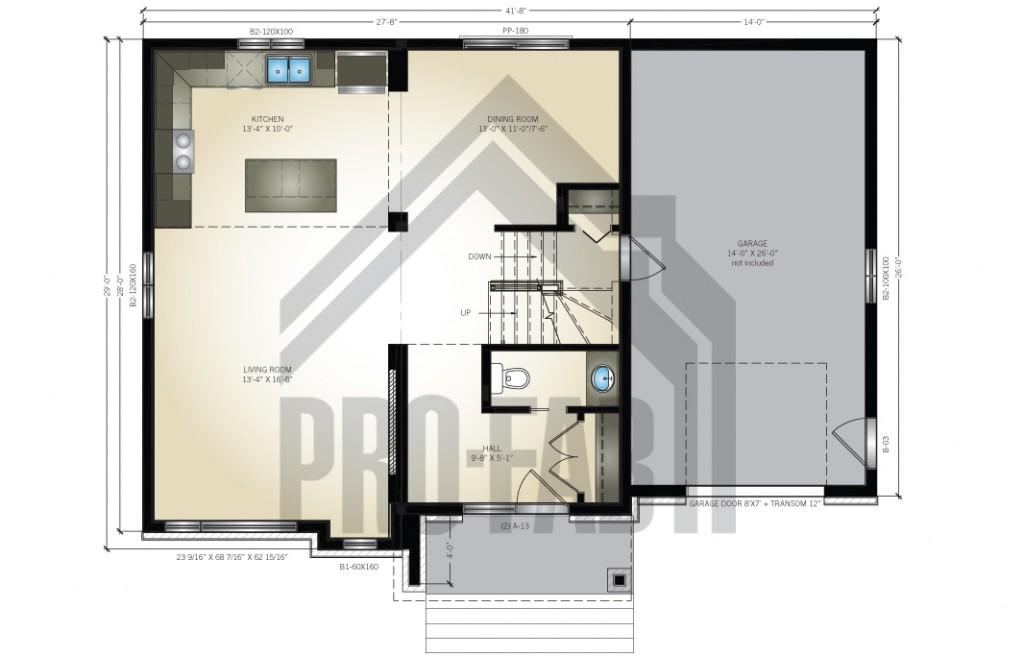 Embrun Floor Plan
