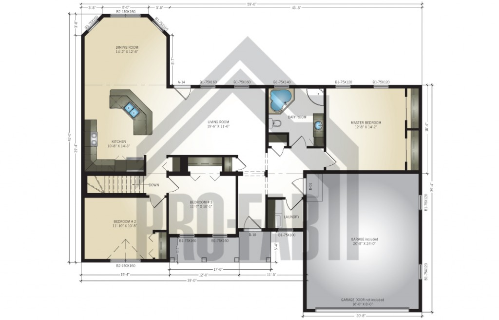 Diana Floor Plan