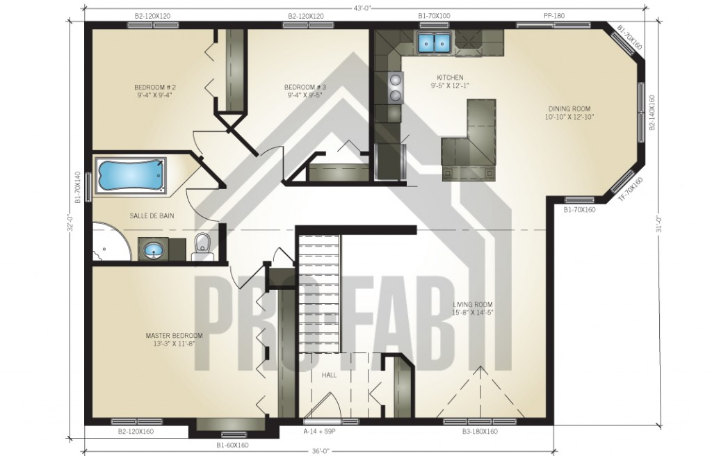 Simcoe Floor Plan