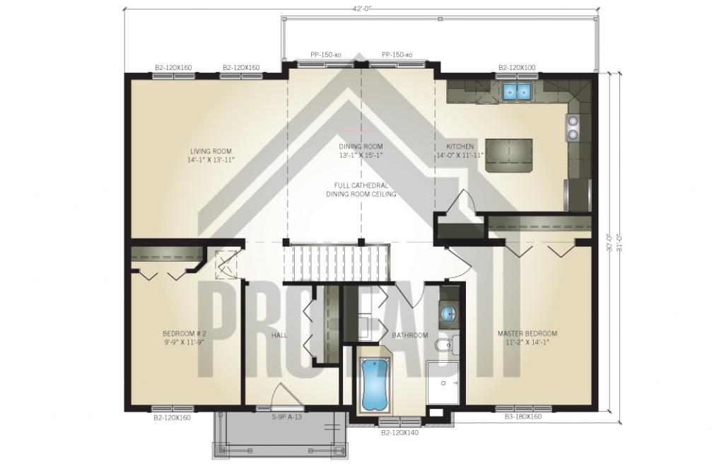 Bloomington Floor Plan