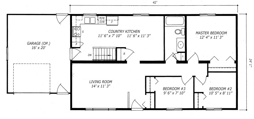 Almonte Floor Plan