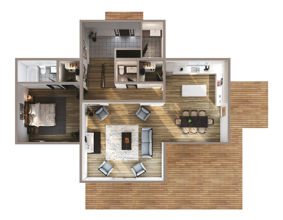 Buck Ridge Floor Plan