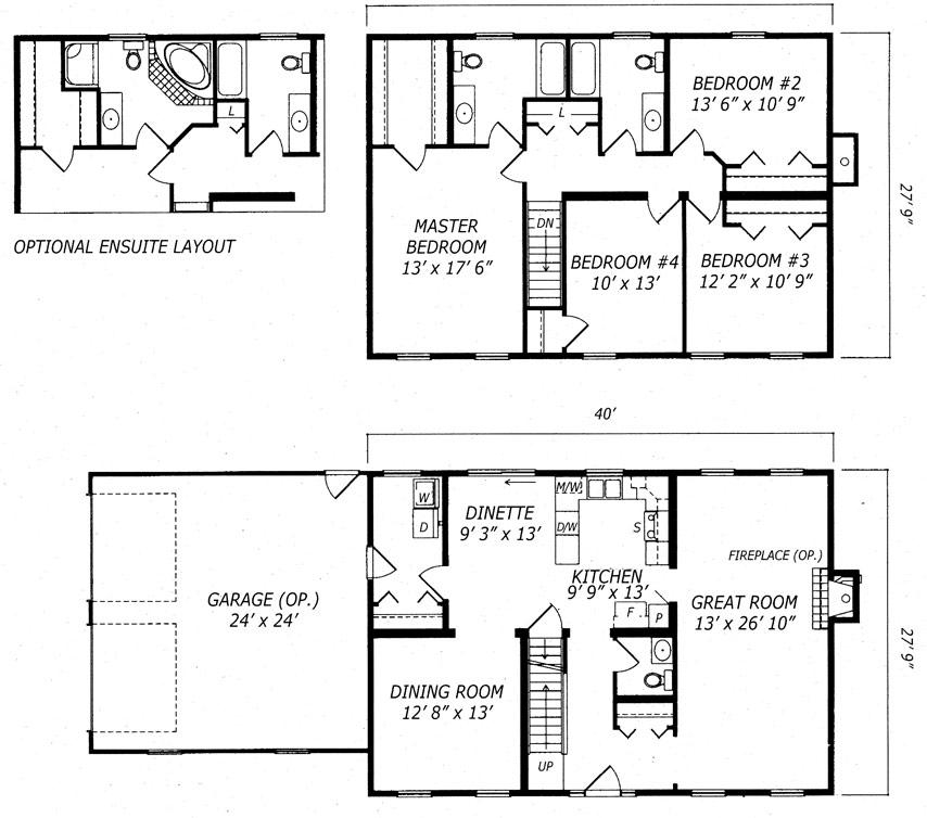 Burlington Floor Plan