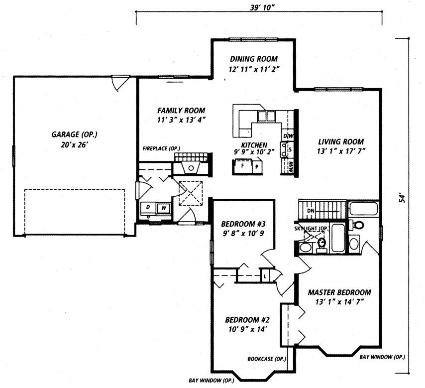 Carleton I Floor Plan