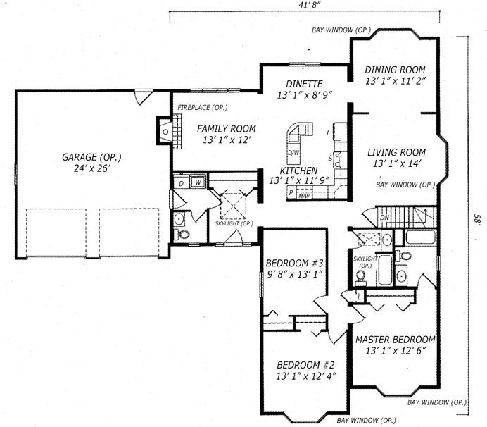 Carleton II Floor Plan