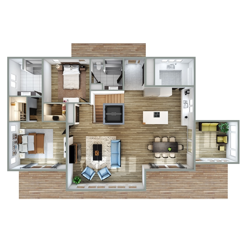 Clearbrook Floor Plan