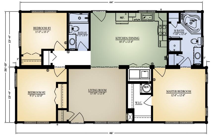 Columbus Floor Plan