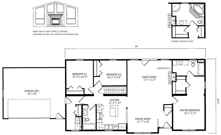 Dundas I Floor Plan
