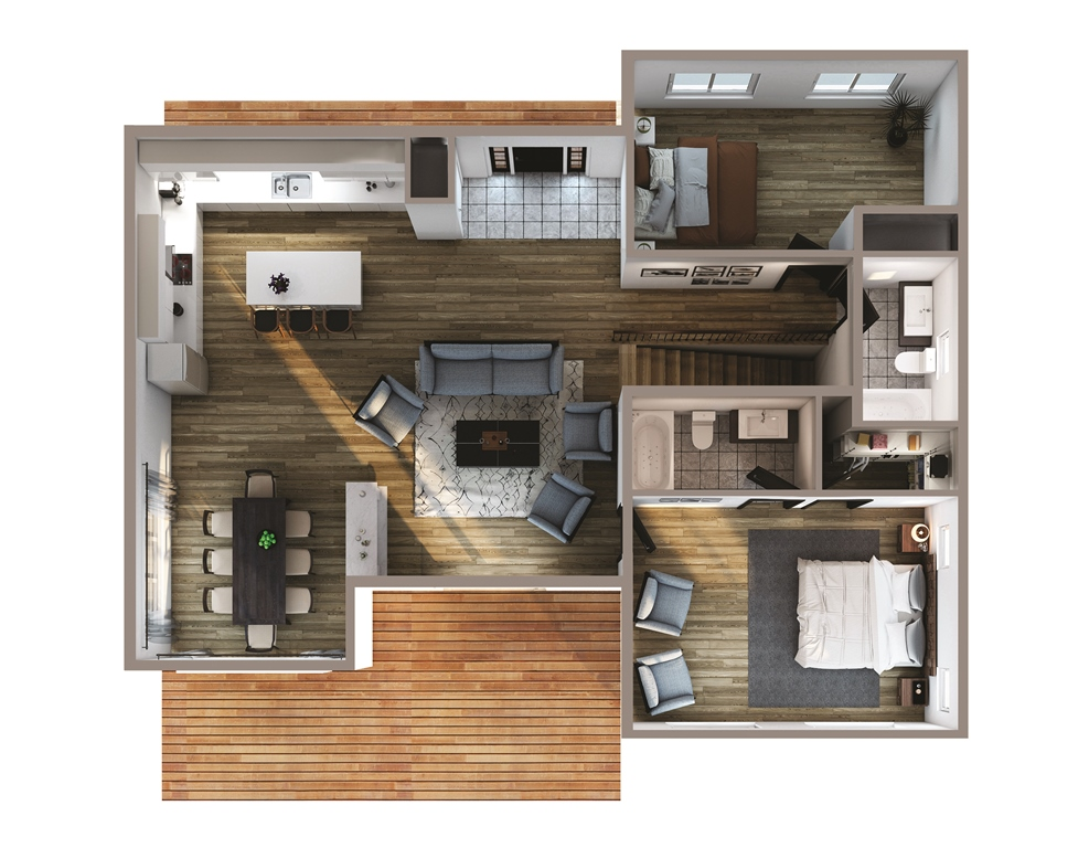Eagle Rock Floor Plan