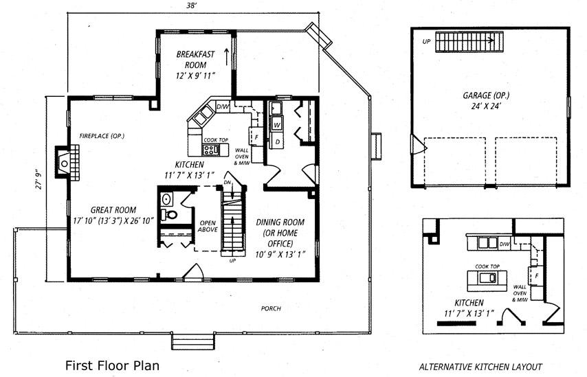 Heritage House Floor Plan