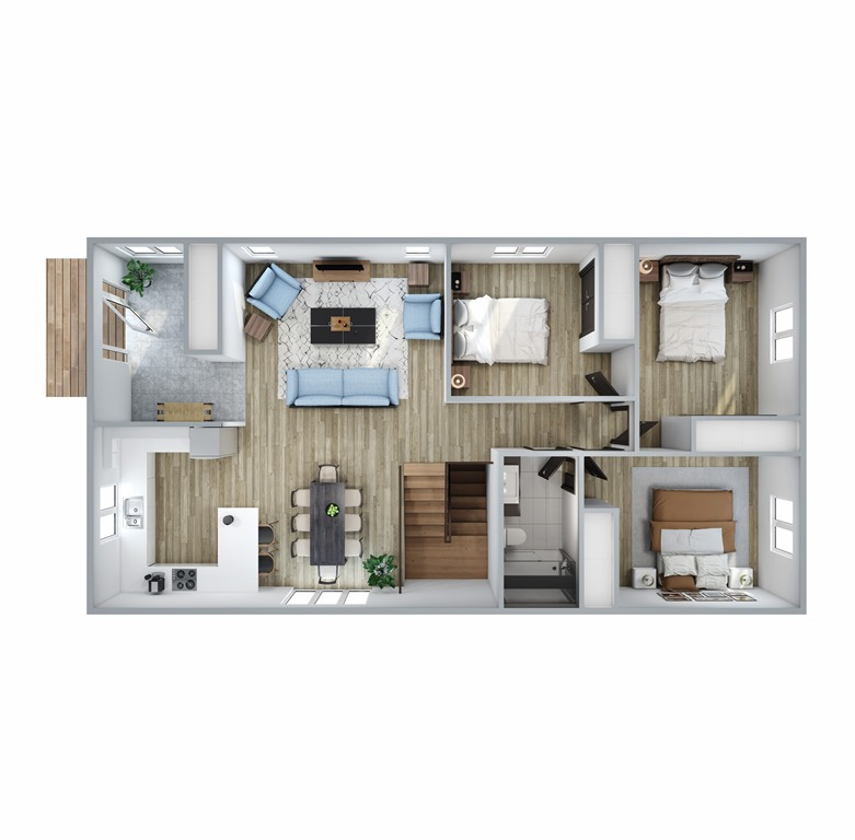 Hillcrest Floor Plan
