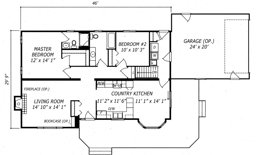 Homestead Floor Plan