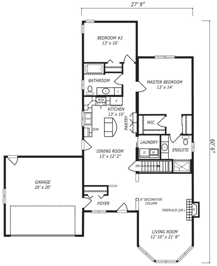 Huntingdon Floor Plan