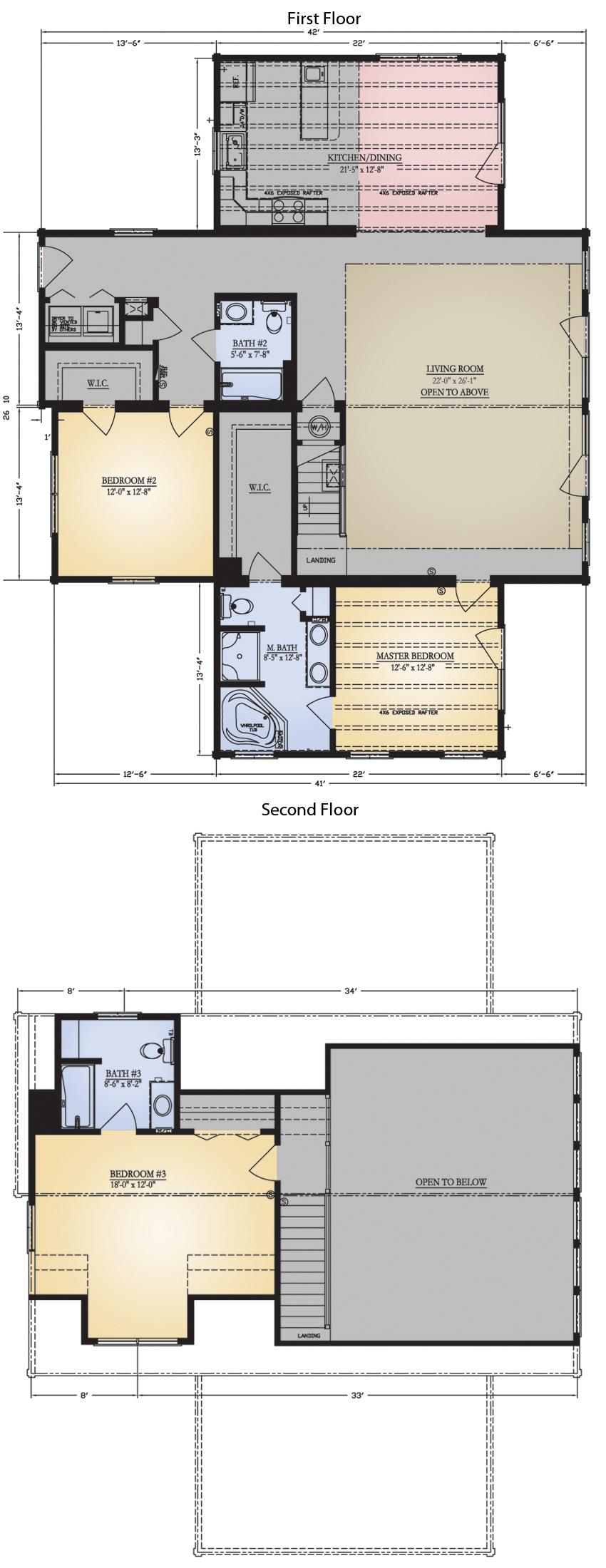 Jocassee Floor Plan