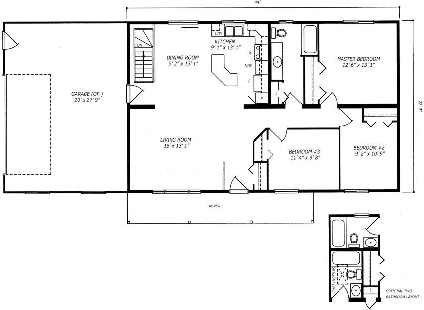 Kingsford Floor Plan