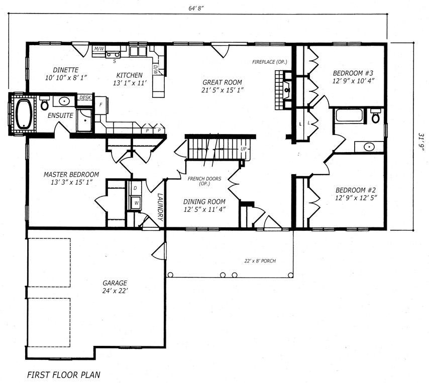 Laurentian  Floor Plan