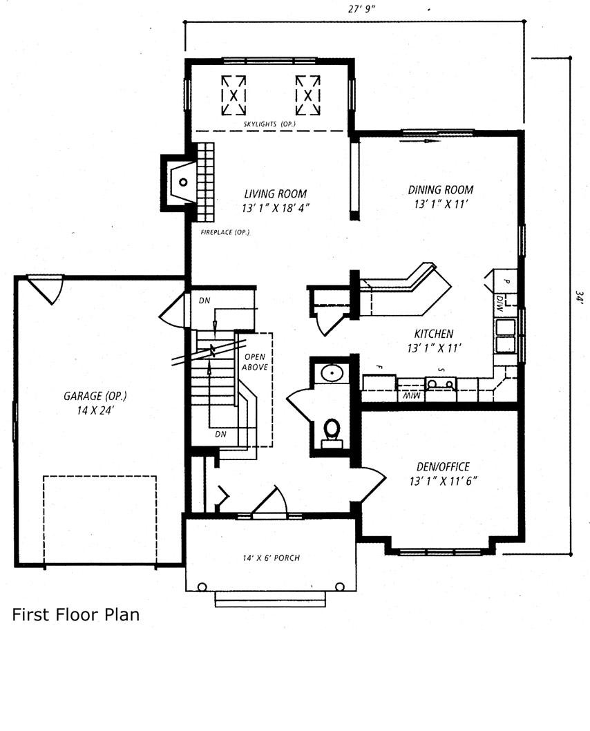 Madison Square Floor Plan