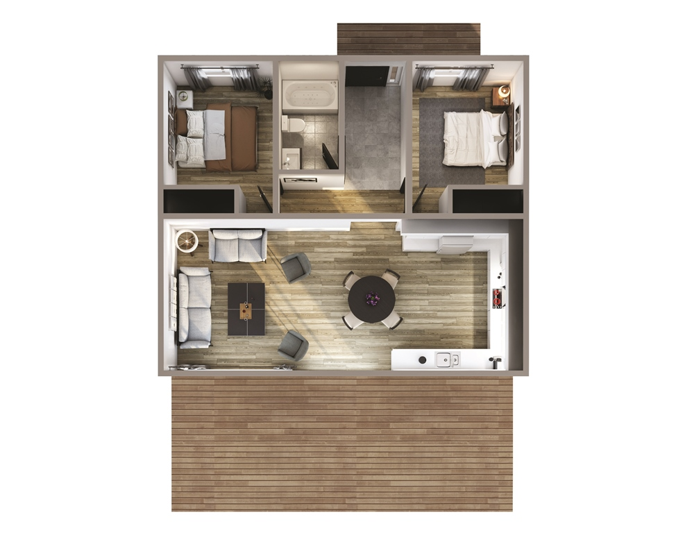 Manitou Floor Plan