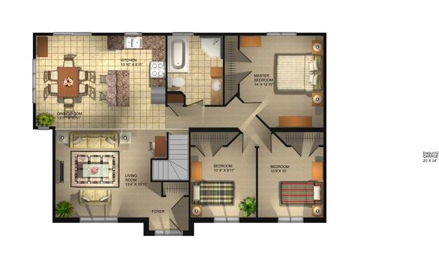Montague Floor Plan