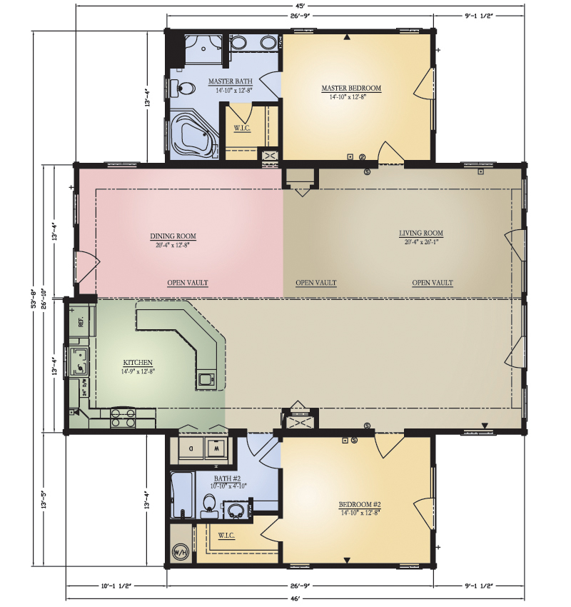 Pisgah Floor Plan