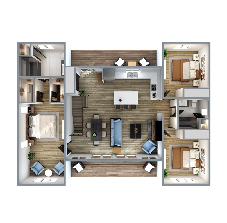 Porchside Floor Plan