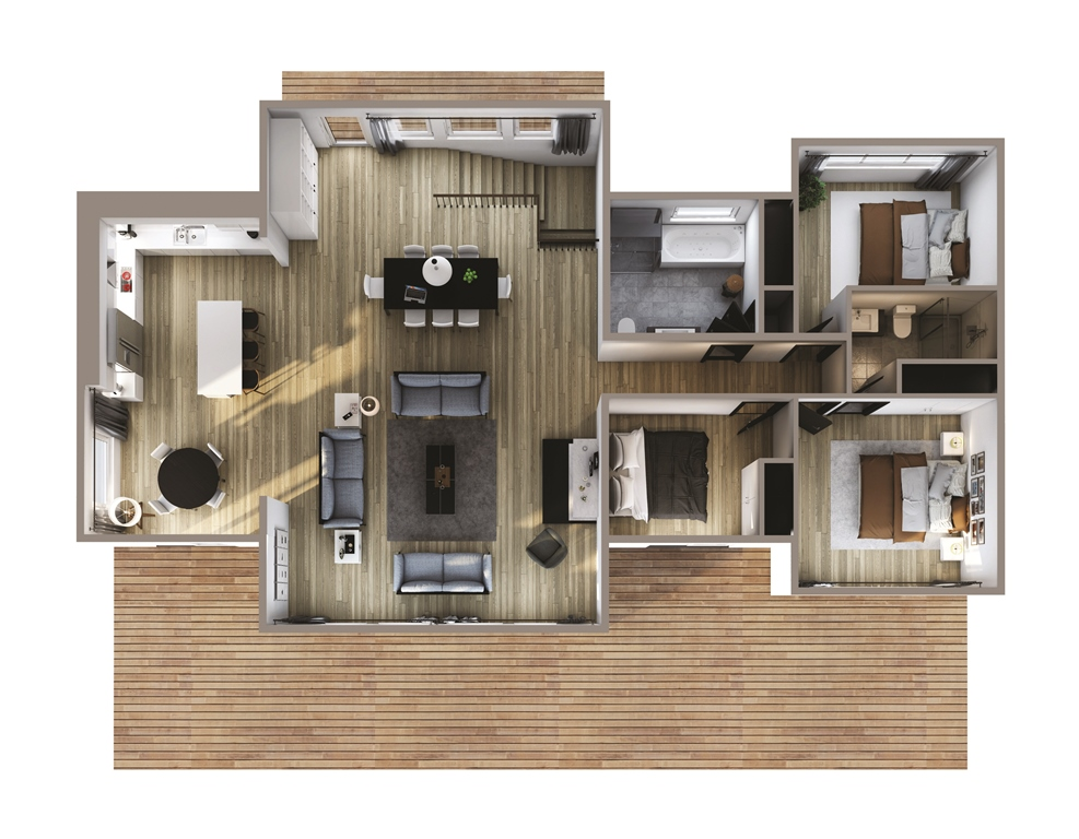 Red Rock Floor Plan