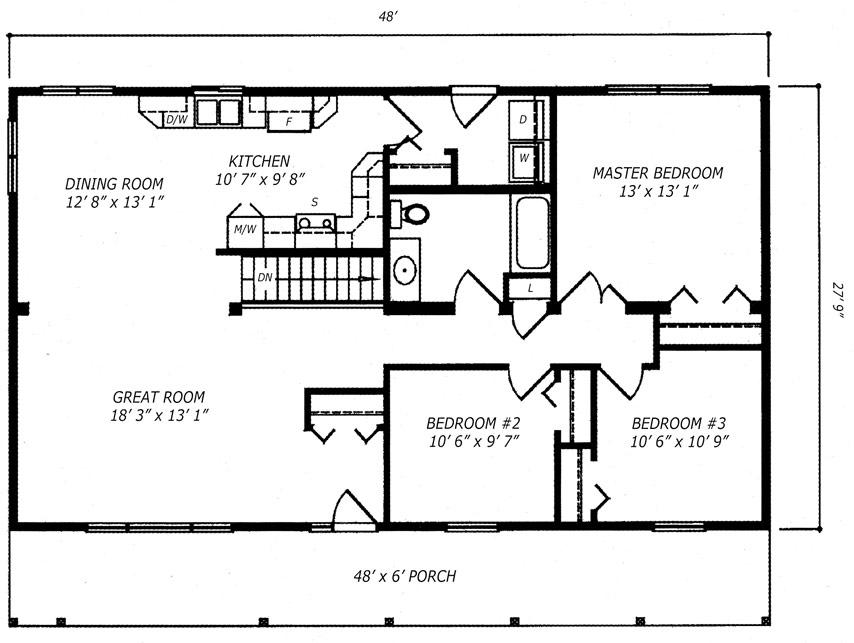 Rideau Floor Plan