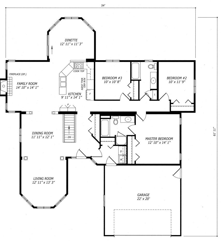 Ridgestone Floor Plan