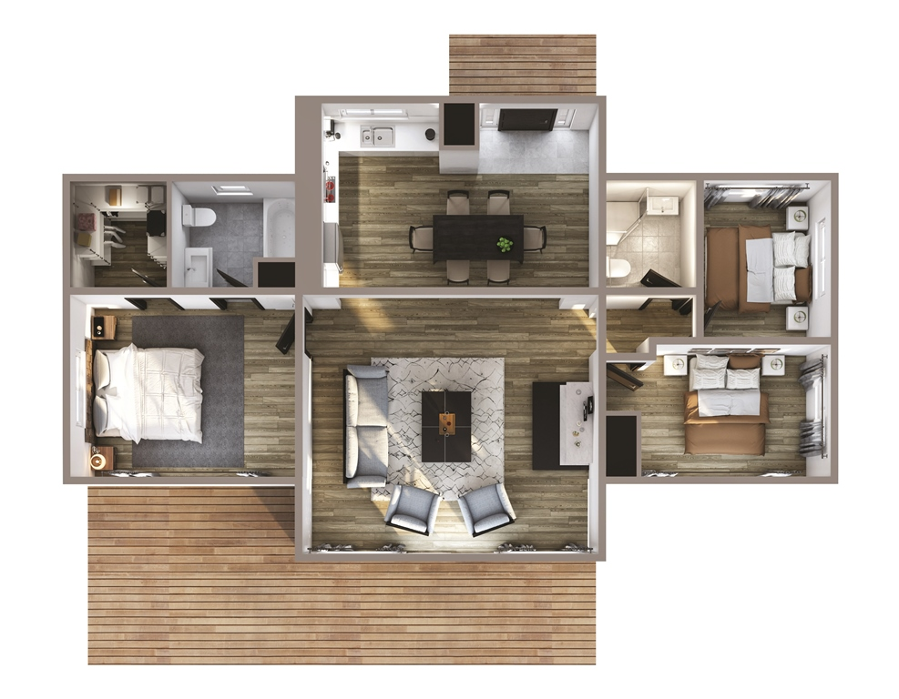 River Bend Floor Plan