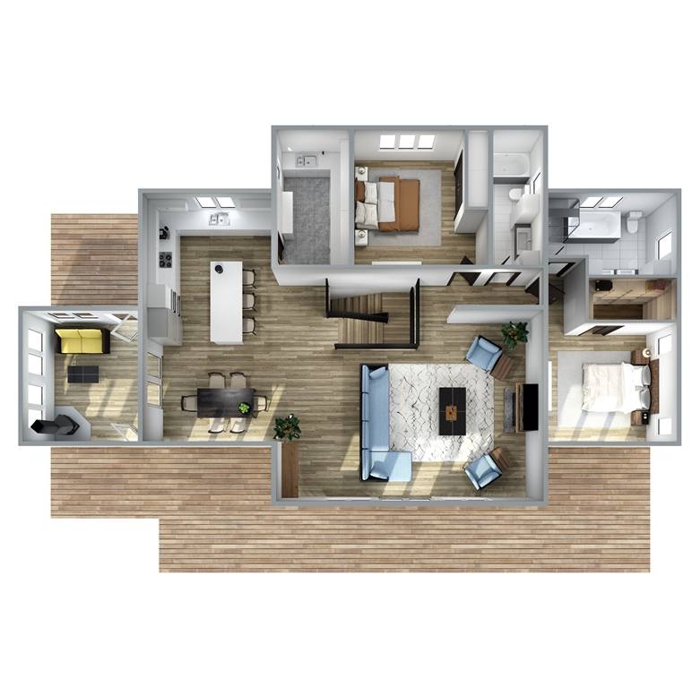 Rockland Floor Plan