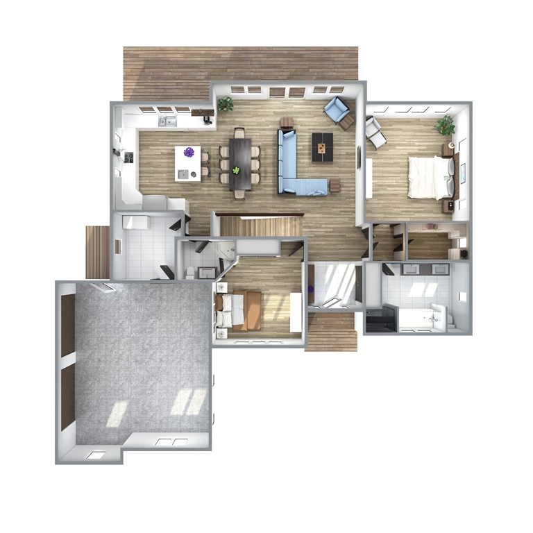 Rose Valley Floor Plan