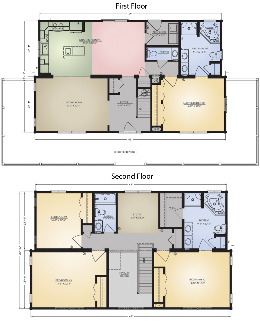 Savannah Floor Plan