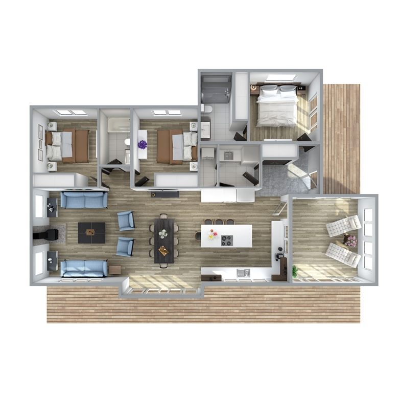 Sparrow Floor Plan