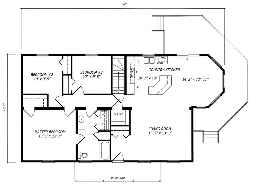 Stonehedge Floor Plan