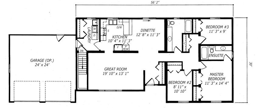 Teakwood Floor Plan