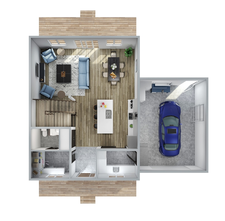 Urban Oaks Floor Plan