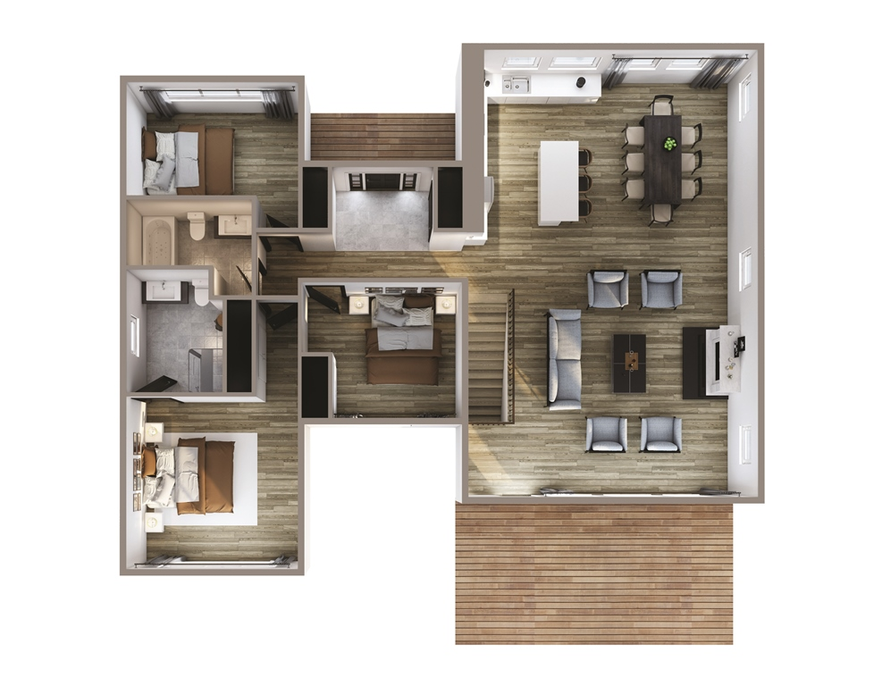 Windswept Floor Plan